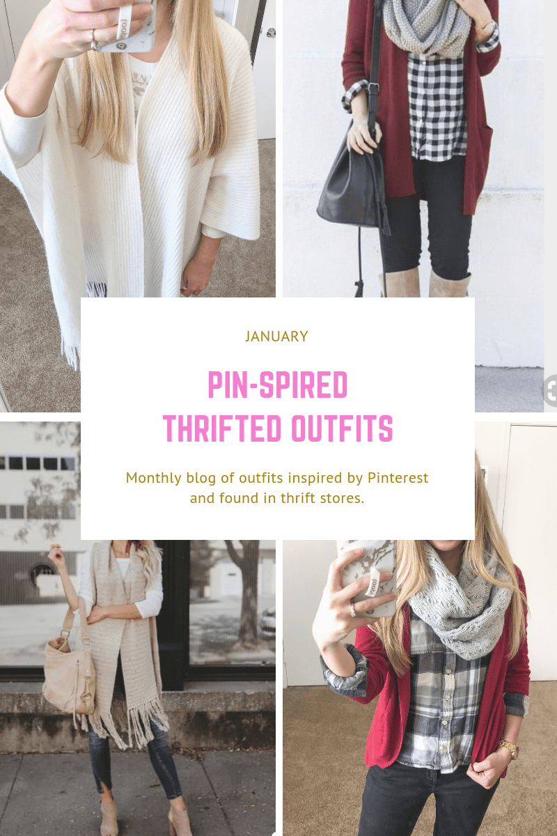Pin-spired Thrifted Outfits: January